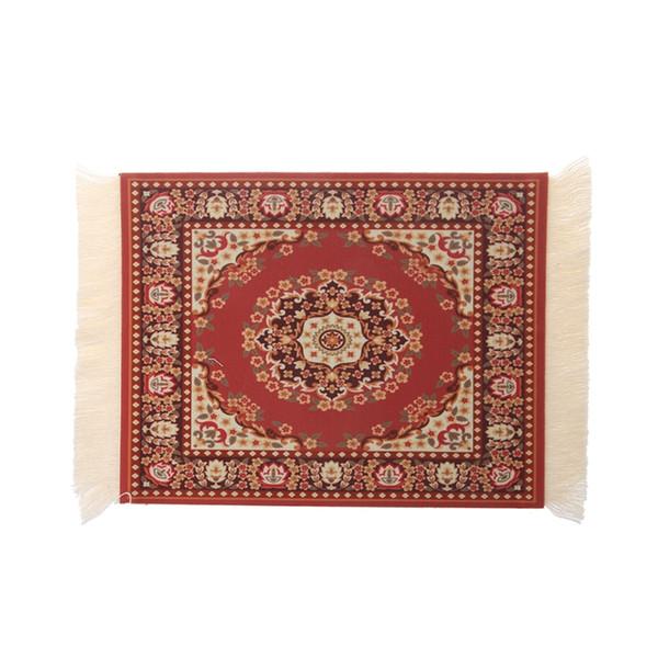 280 x 180mm Weinlese-Teppich-Mausunterlage-Gummi-Tabletten-Matten-persische Art-Mausunterlage