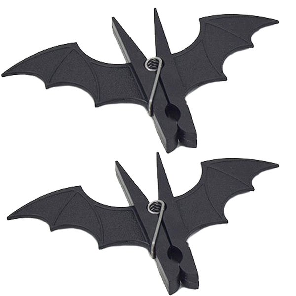 2 pc Bat Shape Plastic Clips Clothespins Clips Windproof Quilt Clip Clothes Hanging Pegs