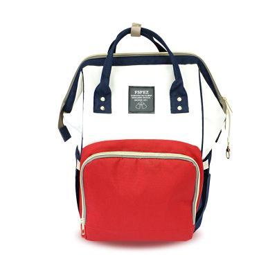 Neue Mommy-Tasche geht aus Mode Bao Ma Rucksack Multi-Funktions-große Kapazität Mamabeutel Tragbare Mutter- und Säuglingsbeutel