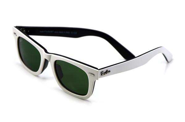 Black and white Frame Green Lens 50mm