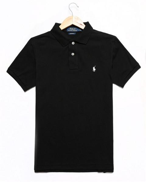 Brand Designer Polo Men Women Short Sleeve Shirts London New York Chicago Polo Shirt Mens Polo Shirt High Quality Solid Color