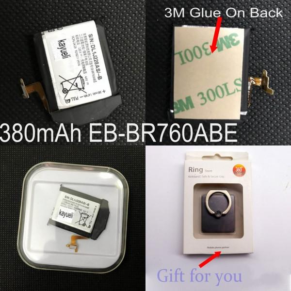 kayueli 380mAh Original 1.47Wh Batteria EB-BR760ABE per Samsung Gear S3 classic Gear S3 frontiera LTE SM-R760 SM-R770 Smartwatch