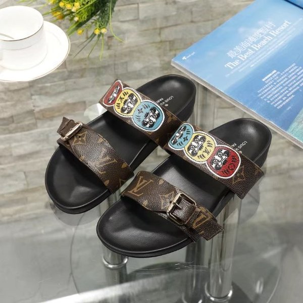 vvtisks5 spring Early new slippers Women Casual Handmade Walking Tennis Sandals Slippers Mules Slides Thongs