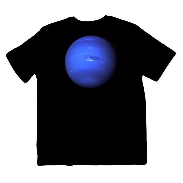 Neptune Star NASA Astrology Planet Solar System Space Shirt S-XXXL Colour print
