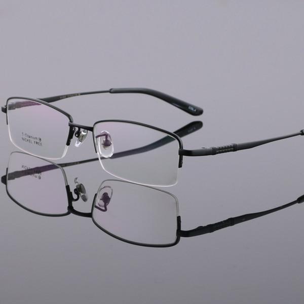 Men Designer Eyeglass Frames Titanium Spectacle Frames LB-6609 54-18-140mm
