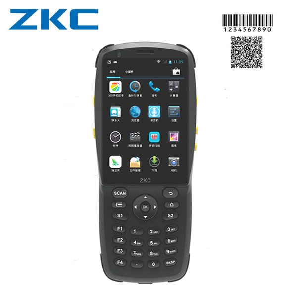 best selling Original ZKC PDA3501 Barcode scanner Android handheld computer WIFI USB Bluetooth 3G Android device