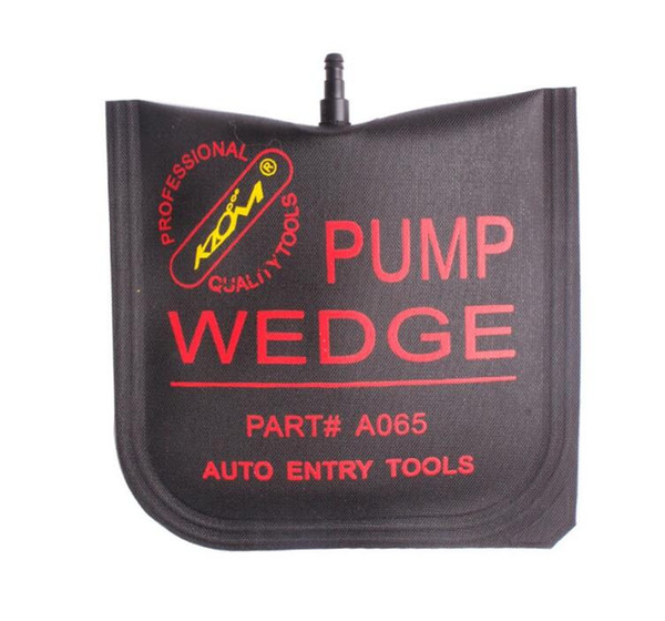 top popular KLOM PUMP WEDGE MIDDLE SIZE Airbag New for Universal Air Wedge LOCKSMITH TOOLS Lock Pick Set Door Lock Opener black cheap price 2021