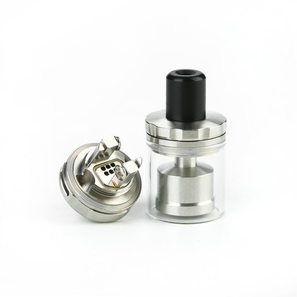 Original Arctic Dolphin ELUX RTA 1.2ml 18mm Diameter & Dual Posts Build Deck E cig Tank Atomzer