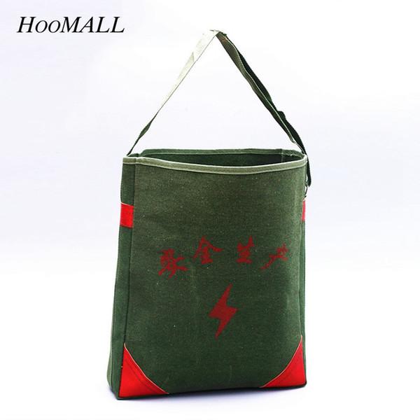 Hoomall Nouveau sac à outils électrique Épaissir la toile Emballage droit Emballage multi-fonctionnel pour la maintenance des outils