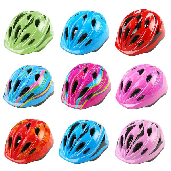 Ultralight Children Helmet Adjustable Bike Cycling Helmets with Light Size 59-69 Bicycle Helmet Kids Bike #3O19