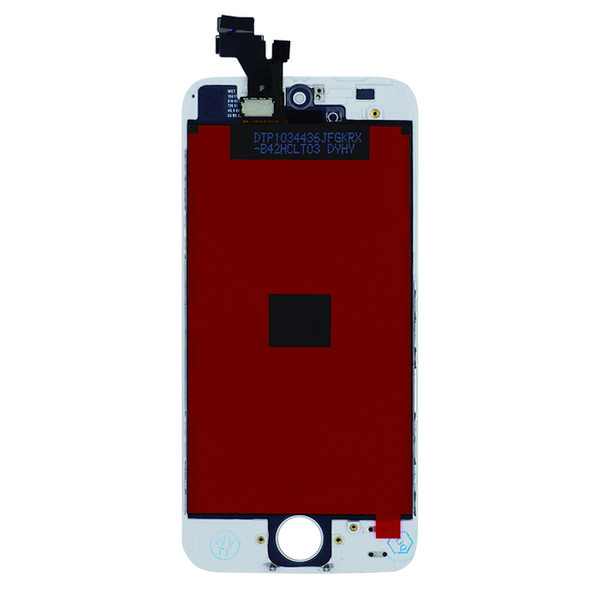 High Quality Tianma Glass For iPhone 5 5G 5C 5S Black & White LCD Display With Touch Screen Digitizer & Free DHL Shipping