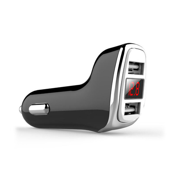 brand new 3723e 52cf5 2018 Hot SUGU LED Digital Display Car Charger USB Type C Smart Quick  Charger For IPhone 9 8 X Samsung Galaxy Fast Mobile Phone Charger Charging  Mat ...