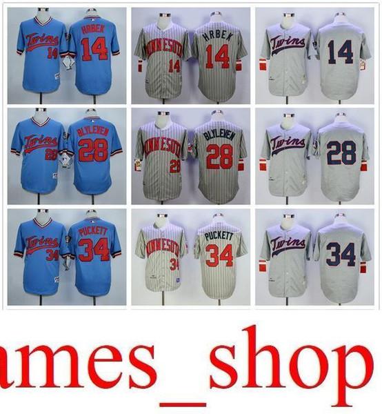 2019 Ma Twins 7 Joe Mauer 28 Bert Blyleven 3 Harmon Killebrew 34 Kirby Puckett Men All 100% Stitched Flexbase Onfiled Baseball Jerseys