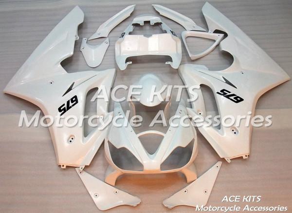 Carénages de motos ACE Pour Triumph Daytona 675R2006 2007 2008 Compression ou Injection Carrosserie Blanc No.587
