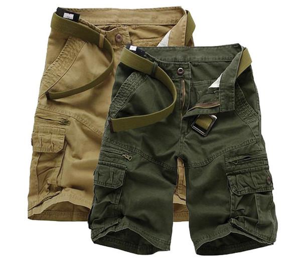 2018 New Super Large Size Style Fashion Overalls Five Pants Cotton Short Homme 29 30 31 32 33 34 36 38 40