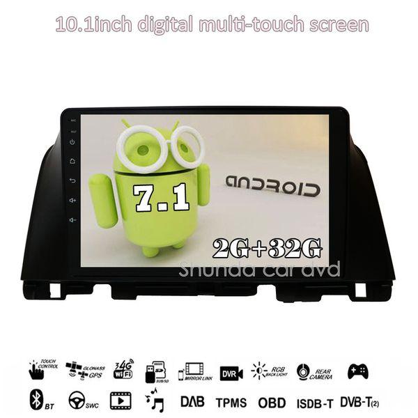 SHUNDA 10.1 inch HD Android 7.1 T3 2G 16G Car DVD Player for KIA Optima K5 Russian Version with GPS 3G 4G Radio Navi BT WIFI RDS Map