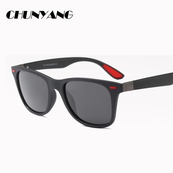 Бренд-дизайнер Classic Поляризованные солнцезащитные очки Мужчины женщины вождения tr90 Оправа очков Мужские очки UV400 CY147