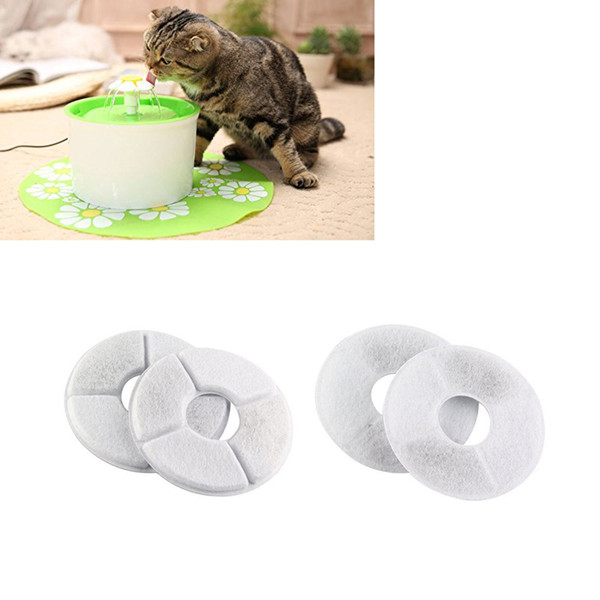 Flower Water Fountain Filter Activated Carbon Special For Dog Cat Automatic Water Feeder Accessories Pet Feeder filter
