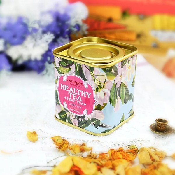 European Portable vintage Tea Tins Lids Container Gifts Boxes 9 design 100pcs lot free shipping wholesales