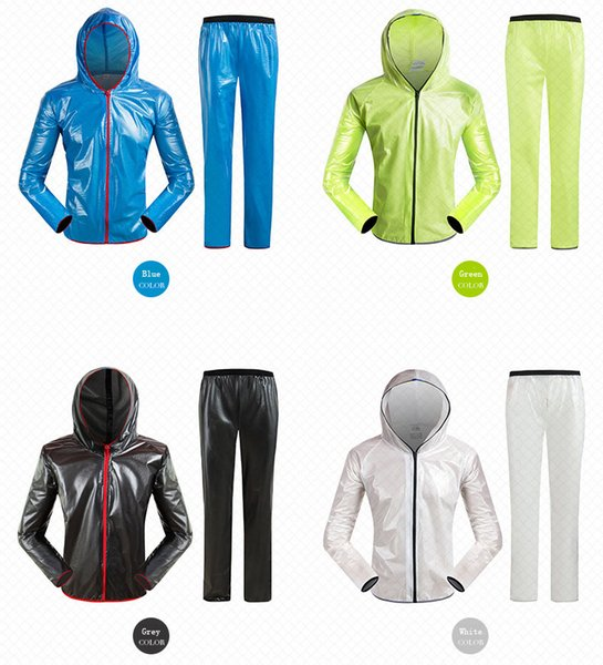Spor bisiklet fisyon yağmurluk elbise. Güneşten korunma ve yağmur örtüsü ile açık su geçirmez ve bisiklet elbise. Anlamsız ve özgürce nefes alın