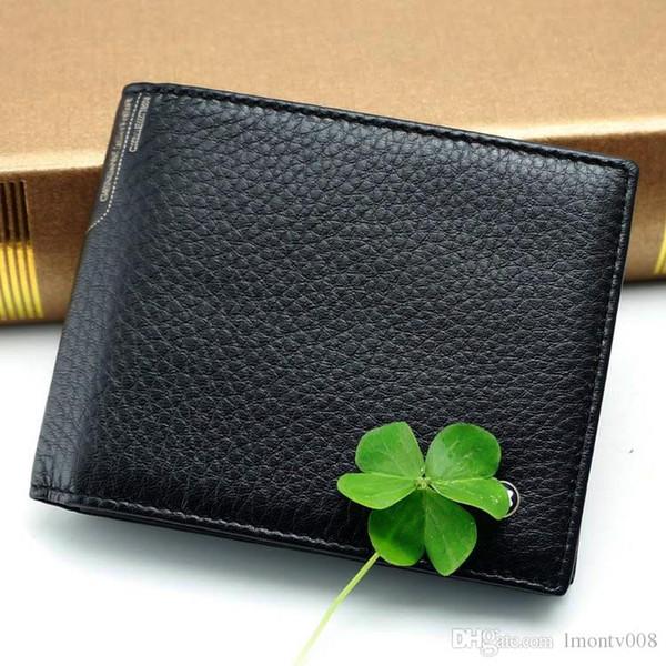 Neue Herren-Luxus-Business für Herren MB Brieftasche aus echtem Leder in schwarz Limited Edition Brieftaschen Classics MT-Kartenhalter Brieftasche