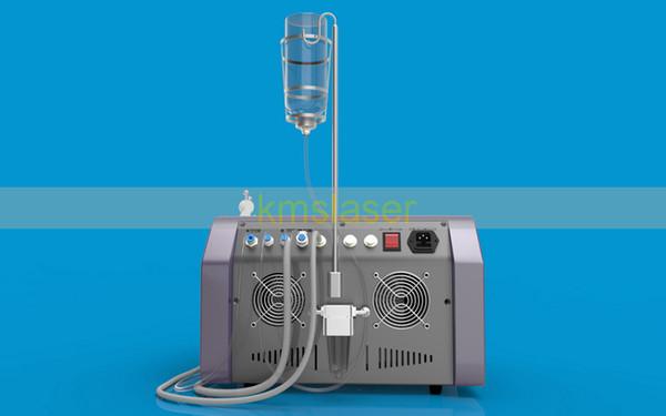 Water oxygen jet peel facial skin deep cleansing oxygen spray gun bio microcurrent face lift skin care beauty machine