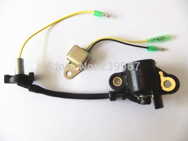 Oil level switch w/ diode for Honda GX120 GX140 GX160 GX200 5.5HP 6.5HP engine alert sensor unit 15510-ZE2-033