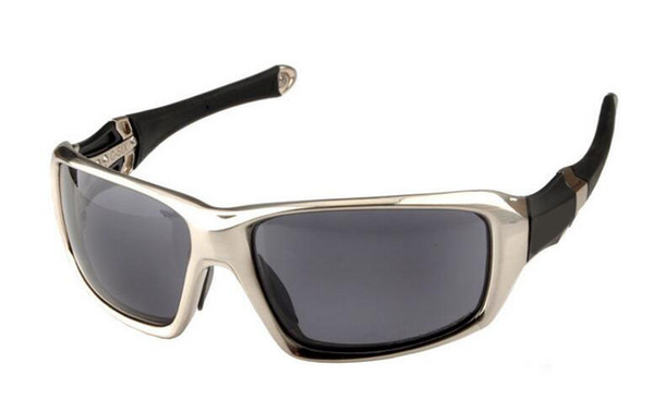 Dos colores Ciclismo Gafas de los hombres Marco negro Moda gafas de sol polarizadas Gafas de sol de los hombres C SEIS C-Seis gafas al por mayor al por menor Dropshipping