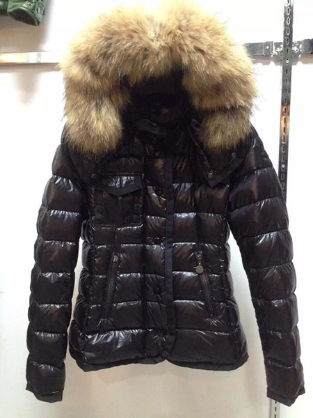 M95 ARMOISE parkas for women winter jacket Winter Coat Ladies anorak womens down jacket coats with real raccoon fur jackets
