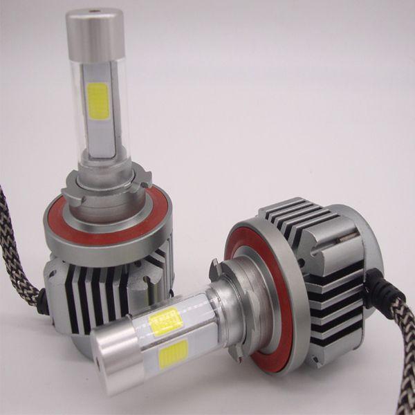 9005 9006 9007 H1 H4 H7 H11 LED Headlight Bulb Conversion Kit 400W 40000LM 6000K Xenon White x2