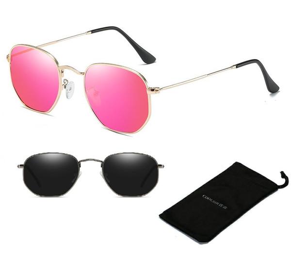 Most Popular Brand designed Polarized Sunglasses for Men & Women Glare-Free 100% UV Blocking Classic metal frame 3548N