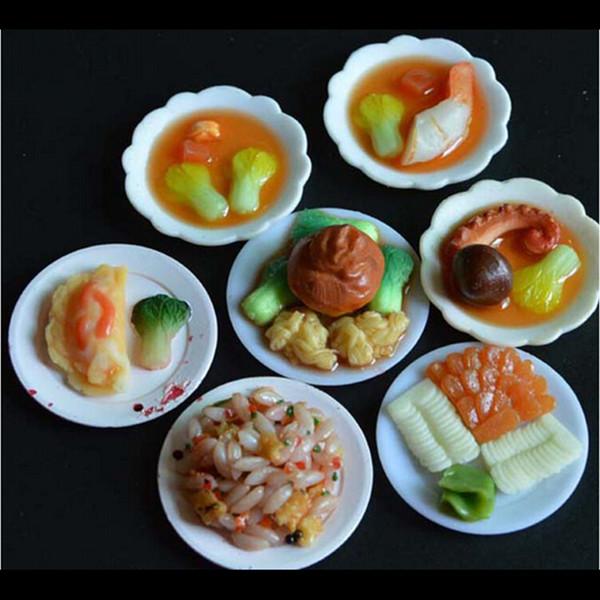 Acquista / Set Accessori Bambola Cucina Mini Stoviglie Miniature Tazza  Piatto Piatto Decorazioni Giocattoli Ragazze Bambini All\'ingrosso A $24.21  Dal ...