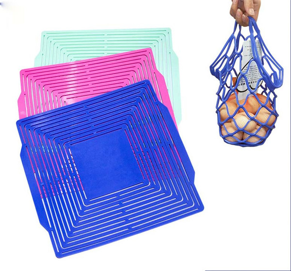 Creative Storage Shopping Bags Fruit Basket Insulation Placemat Travel Picnic Wine Bottle Holder Tableware Pads Drop Shipping