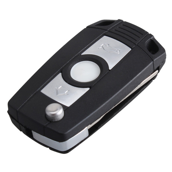 NEW 3 Buttons Modified Key Shell For BMW 1 3 5 6 7 Z3 Z4 E53 E38 E39 E46 E60 Replacement Car Flip Folding Remote Key Case With Key Blank