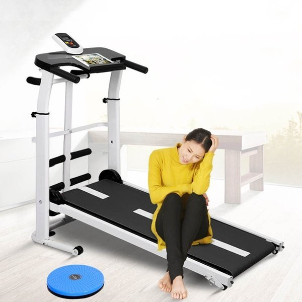 top popular Treadmill machinery home fitness inverted small mini walking machine silent treadmil 2019