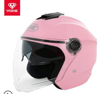 YOHE YH-837A double lens men and women warm half helmet four seasons summer sun protection electric motorcycle helmet 22
