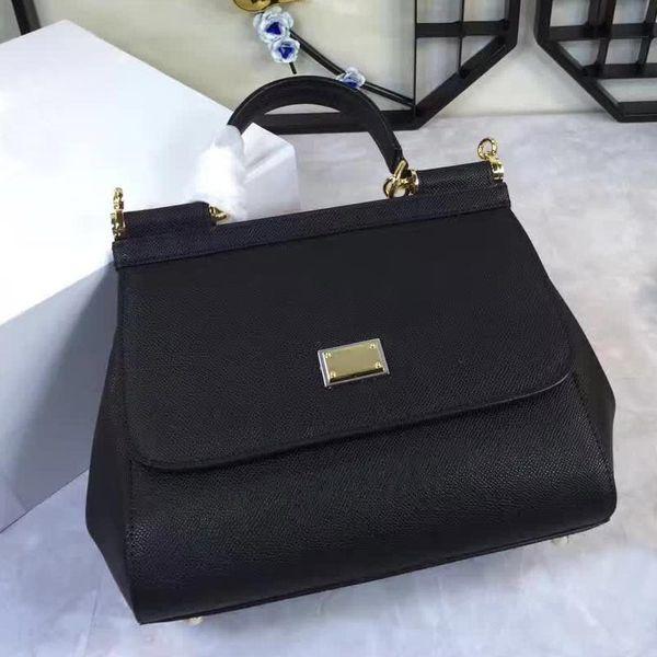 European and American fashion color shoulder bag handbag leather handbag m Xiekua package