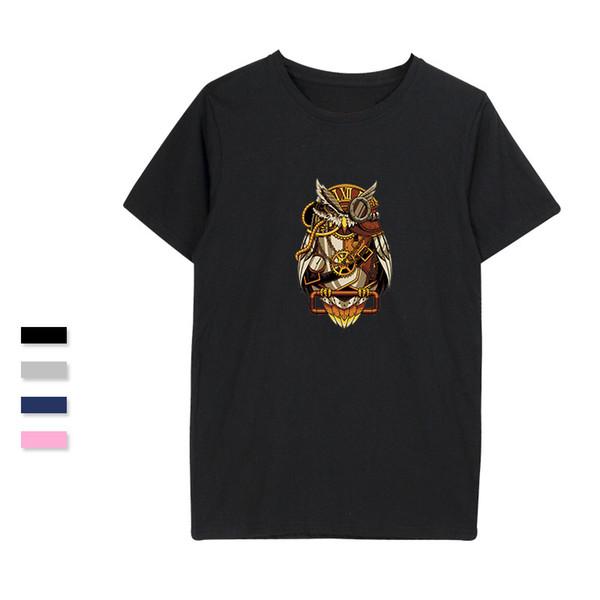 SMZY стимпанк футболка мужчины лето мягкие популярные Crewneck футболка Homme повседневная мода смешные футболки мужчины 2018 печатных футболки