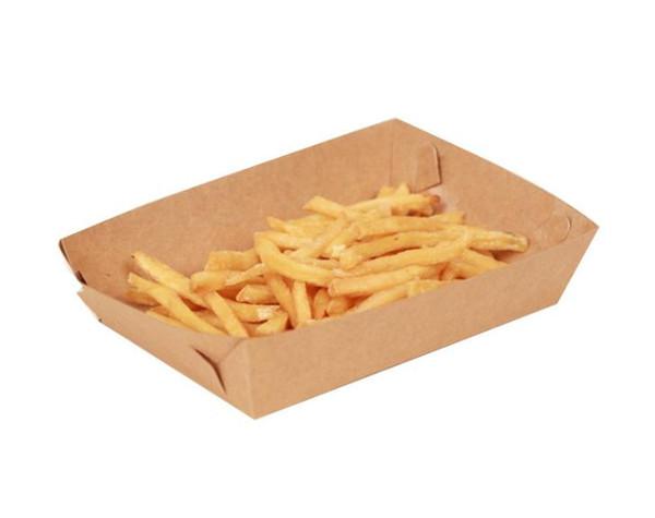 500 pcs Carton Plateau De Nourriture Hot Dog Français Fries Plats Plats Boîte D'emballage Alimentaire Vaisselle Vaisselle Vaisselle livraison gratuite