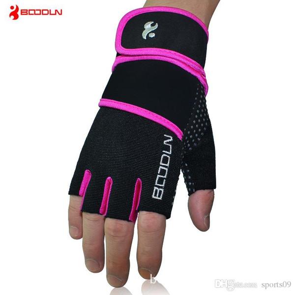 Fitness Gloves Women Men Gym Crossfit Bodybuilding Workout Wrist Wrap Sports Gloves for Dumbbell Barbell Horizontal Bar Training