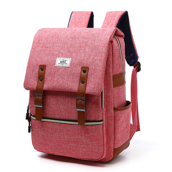 Water Resistant Nylon Backpack Fashion Comfortable Casual Top Quality Daypack with Laptop Sleeve for School Travel Hiking
