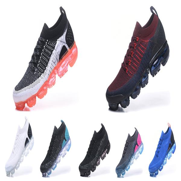 2018 air cushion 2.0 Men designer Running shoes For Mens Run Triple s Black White Cool Grey Walking Jogging Trainers Sport Sneakers