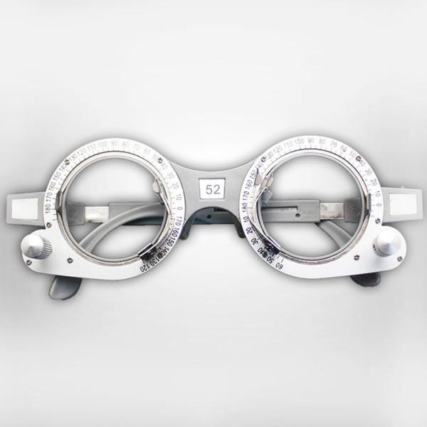 Einstellbare Optischen Probegläser Rahmen Augen Optometrie Metallrahmen Optiker Brillen 52-70mm PD Brillen Zubehör