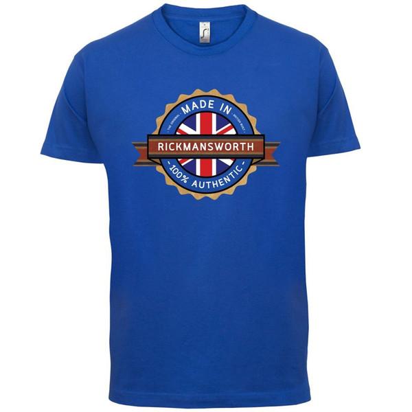 Camiseta hombre Made In RICKMANSWORTH - Pueblo / Ciudad - 13 colores