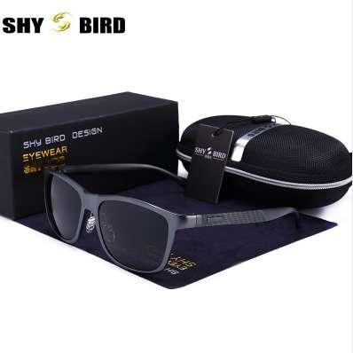 Óculos de sol polarizados homens 2018 novo alumínio magnésio quadro óculos  de sol para homens e 99a06f09c7