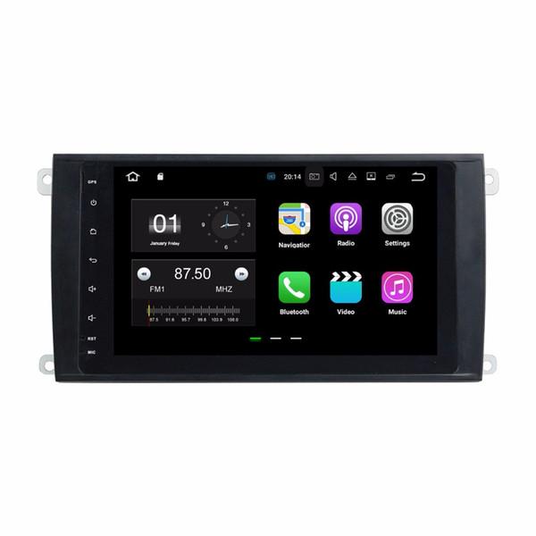 "2GB RAM 8"" Android 7.1 Car DVD Player for Porsche Cayenne 2003 2004 2005 2006 2007 2008 2009 2010 GPS Radio BT WIFI Mirror-link"