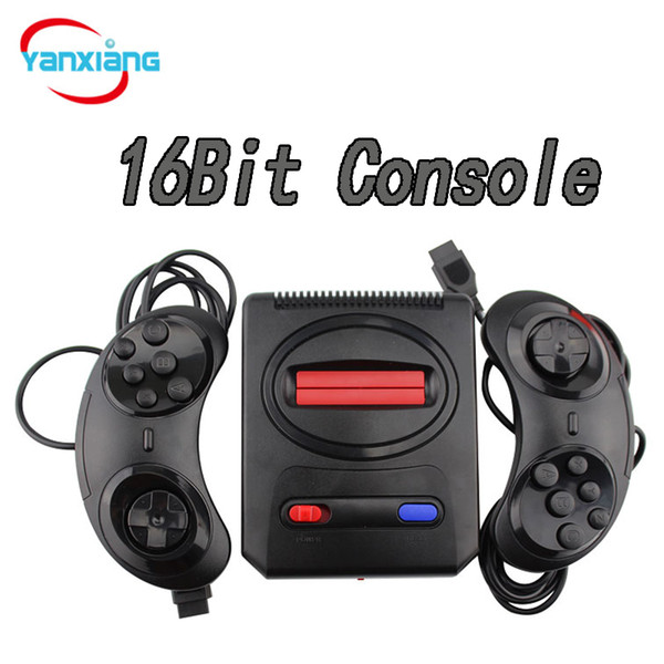30pcs Wholesale Handheld Game Console 16 Bit Portable Players Can store 167 MD Games with retail box YX-107-A