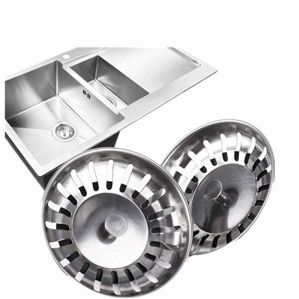 Hot sale Stainless Steel Kitchen Sink Strainer Sewer Filter Mesh Stopper Waste Plug Prevent Clogging Kitchen Appliances Filter