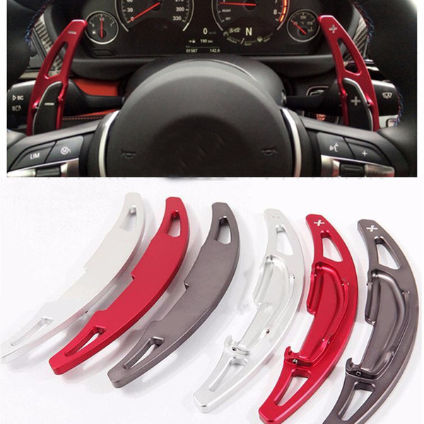 2pcs Aluminium Alloy Steering Wheel DSG Paddle Shifters for BMW M2 M3 M4 M5 M6 X5M X6M Paddle Gearbox Car Accessories