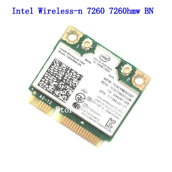 INTEL 7260 BN 7260HMW 300 Mbps Mini PCI-E 2.4GHz BT 4.0 Combo 7260BN para HP Linux Win7 Win8 Win10 AP
